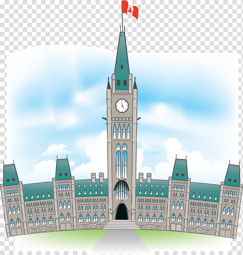 City, Parliament Hill, Peace Tower, Parliament Building.
