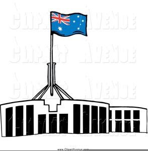 Parliament House Canberra Clipart.