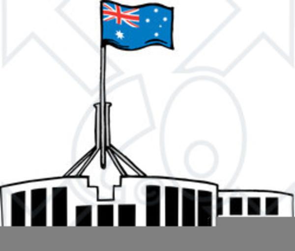 Parliament House Canberra Clipart.
