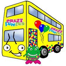 Beer Party Bus Clipart.