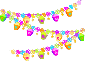 Party Decorations Clipart.