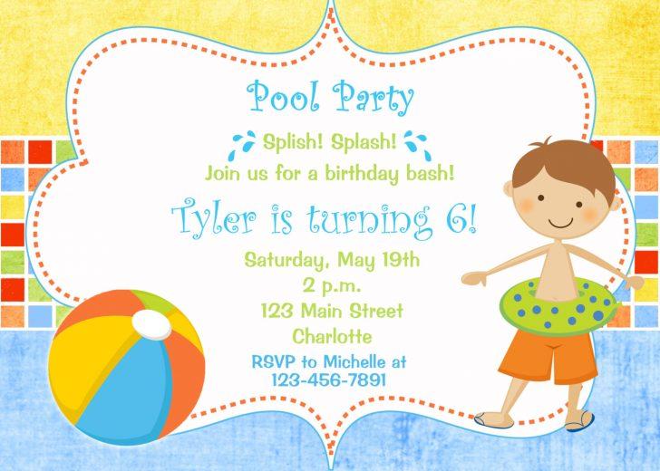 Water Park Backyard Birthday Party Invitations. Birthday.