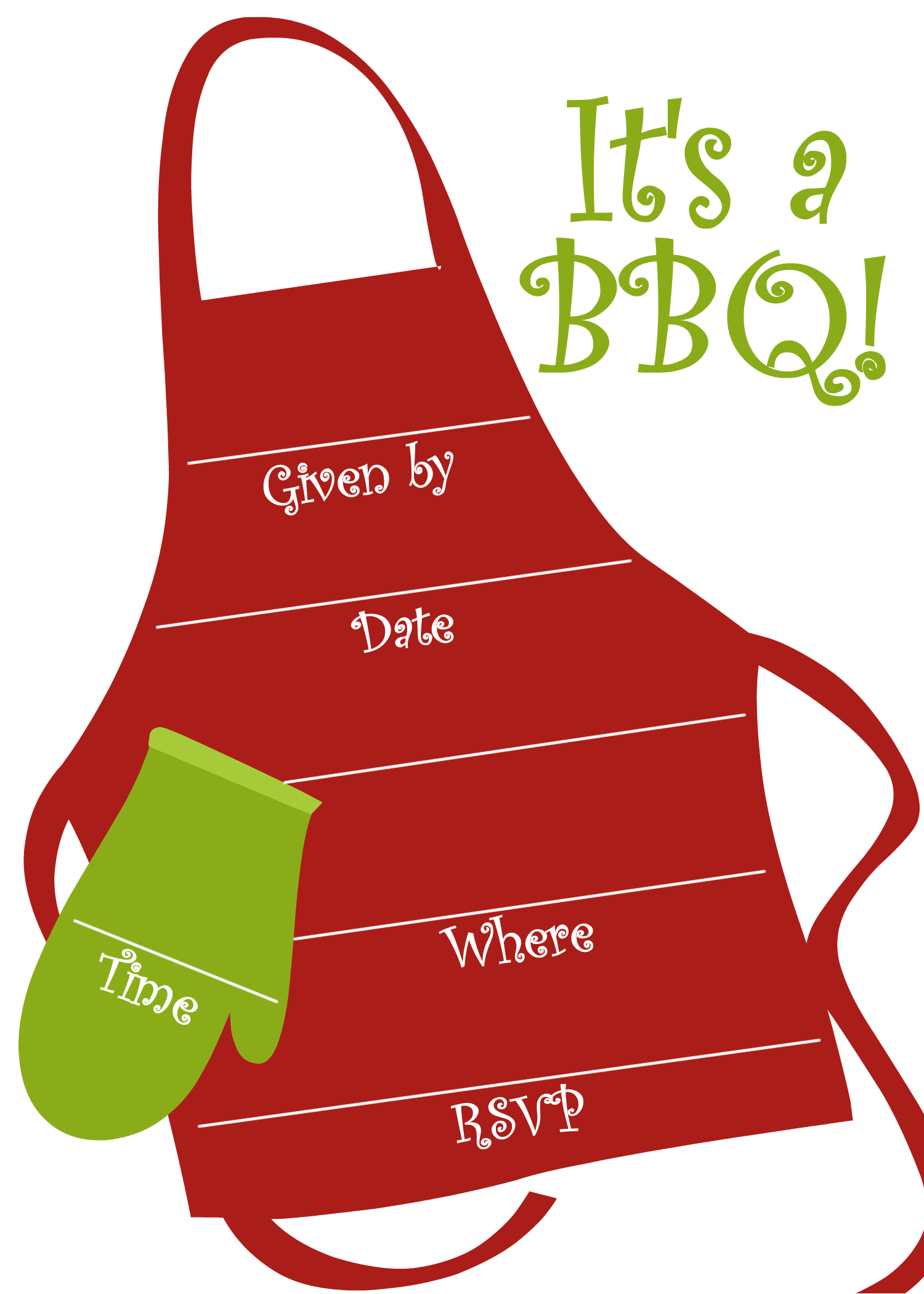 Bbq Party Invitation Templates Free.