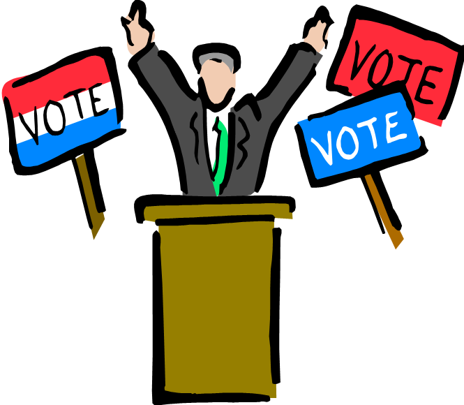 Party Leader Clipart.