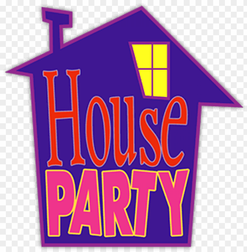 house party logo png.