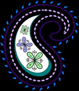 Paisley Clip Art at Clker.com.