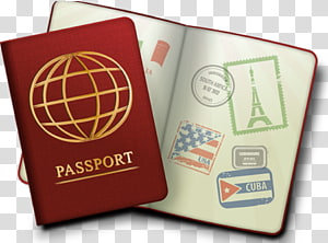 British passport transparent background PNG cliparts free.