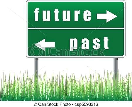 Future Clip Art Traffic Sign Past Clipart Gif.