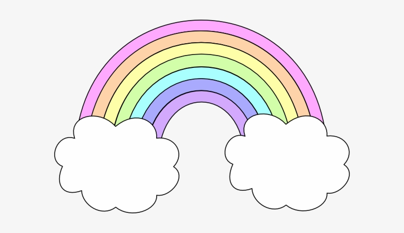 Cloud Clipart Pastel.