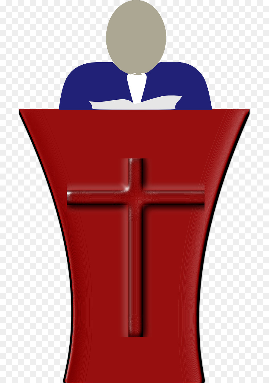 Download pastor talking in the church clipart Pastor Preacher.
