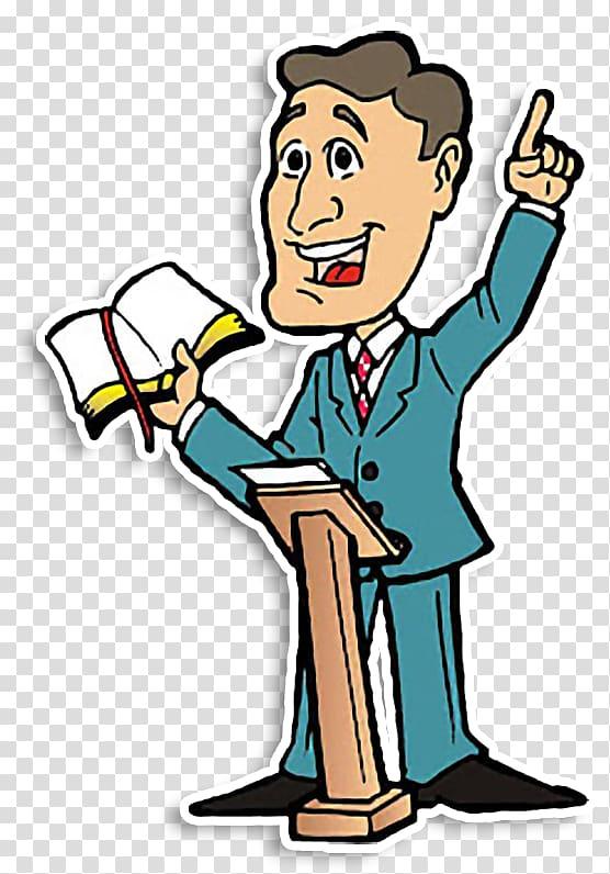 Pastor Preacher Christian Church Pulpit Sermon, Pastor transparent.