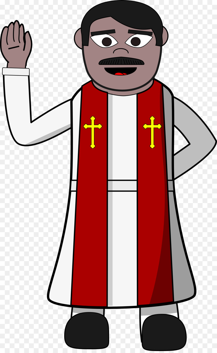 pendeta animasi clipart Pastor Clip art clipart.