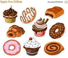 Clipart pastries 3 » Clipart Portal.