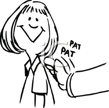 Pat On The Back Clipart.