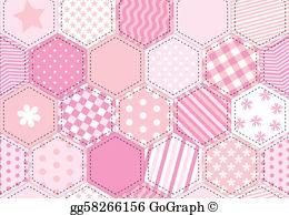 Patchwork Quilt Clip Art.