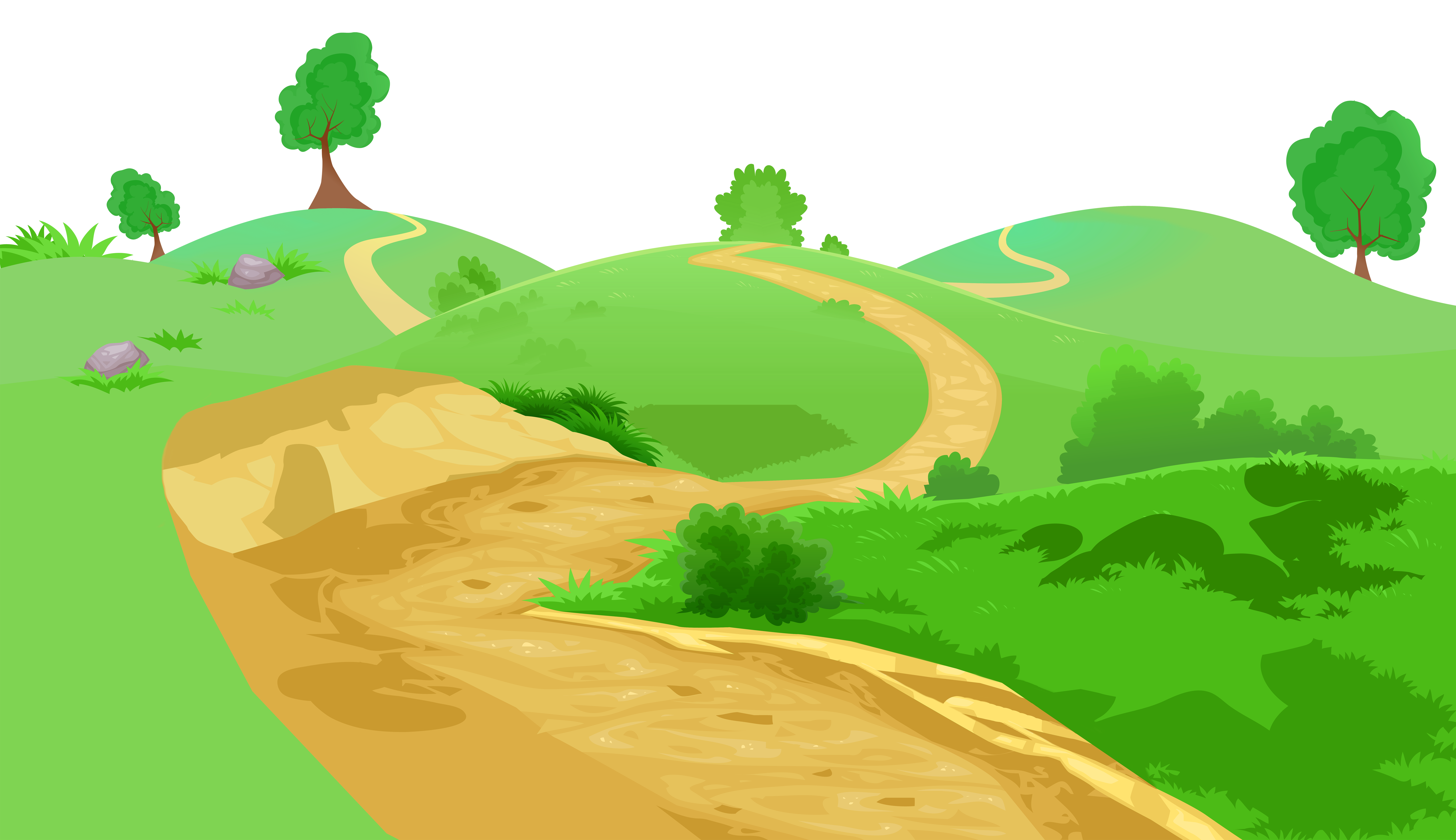 Hills clipart path, Hills path Transparent FREE for download.