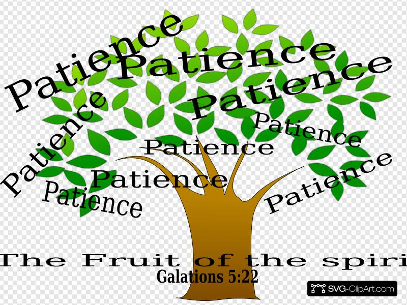 Patience Tree Clip art, Icon and SVG.