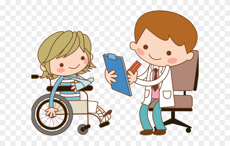 Situation Clipart Doctor Child Patient.