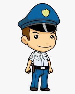 Free Police Officers Clip Art with No Background.