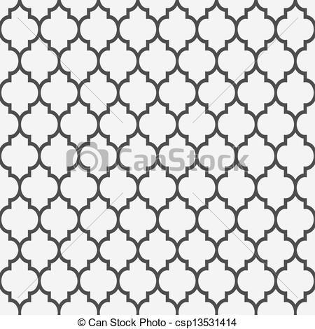 Seamless pattern in islamic.
