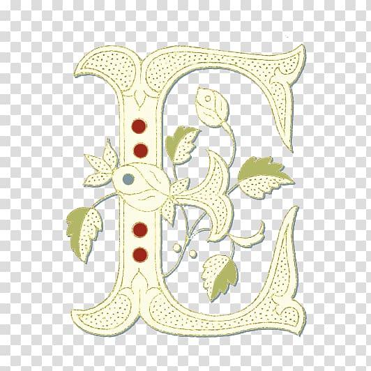 Lettering Alphabet Initial Font, pattern generator.