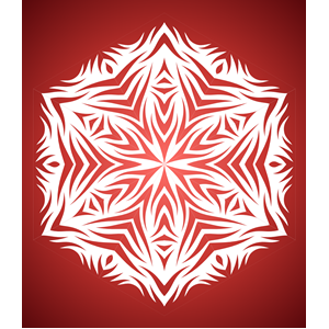 Paper Snowflake Pattern Generator clipart, cliparts of Paper.