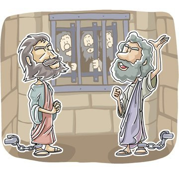Paul and Silas in Prison Free Acts 16 Bible Lesson for Kids.