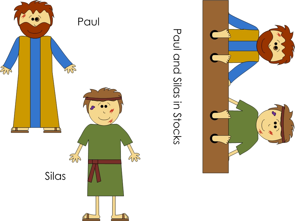 Paul and Silas Shake Free.