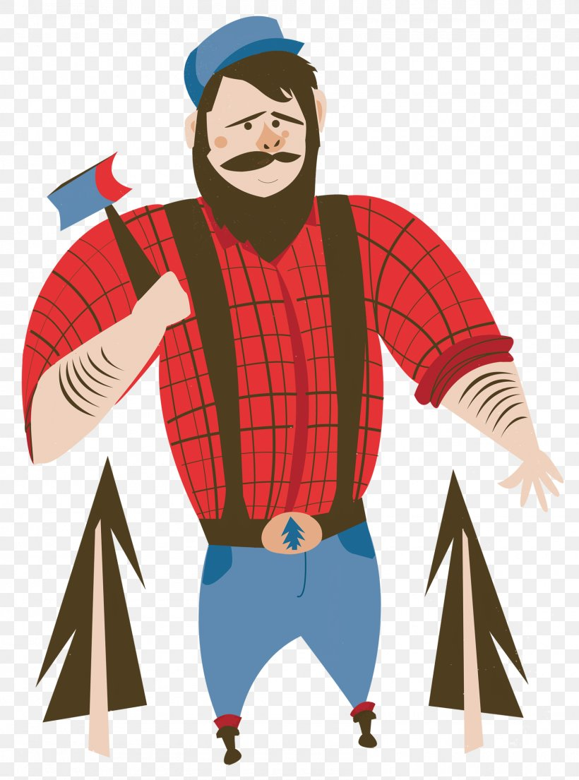 Paul Bunyan And Babe The Blue Ox Tall Tale, PNG, 1600x2157px.