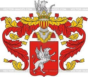 Pavlov, family coat of arms (#2).
