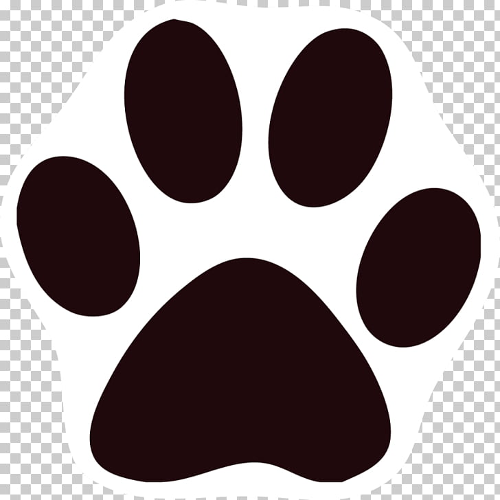 Cat Dog Paw Printing , Black Cat s PNG clipart.
