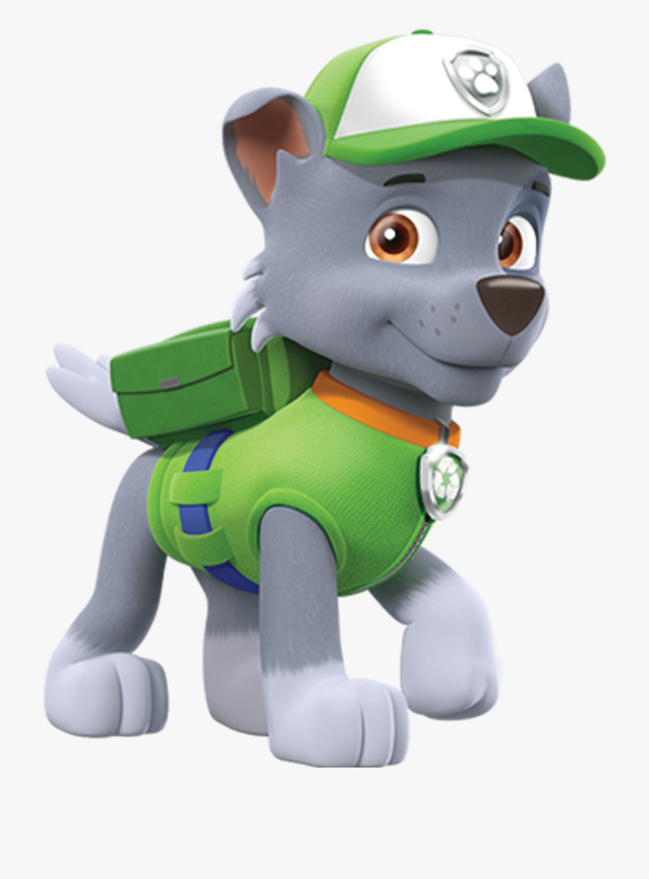 Paw Patrol Clipart Rocky Paw Patrol Clipart Png.