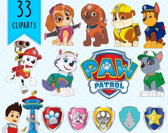 Paw patrol clipart.