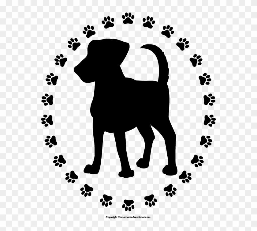 Dog Paw Free Paw Prints Clipart.