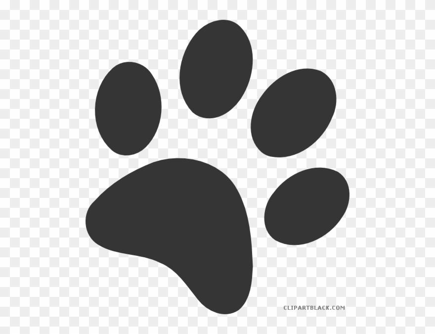 Dog Paw Prints Clipart.
