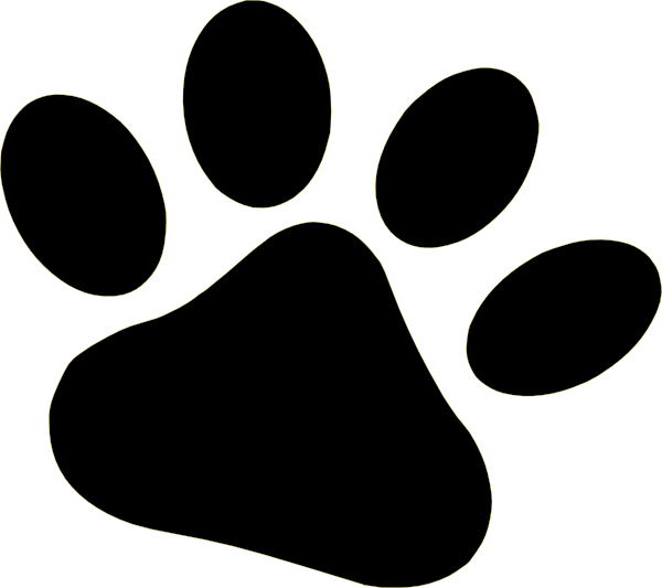 Clipart Of A Dog Paw.