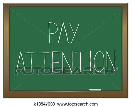 Pay attention clipart 3 » Clipart Station.