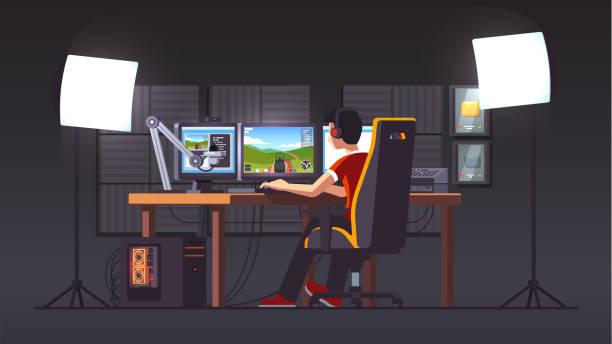 Best Pc Gamer Illustrations, Royalty.
