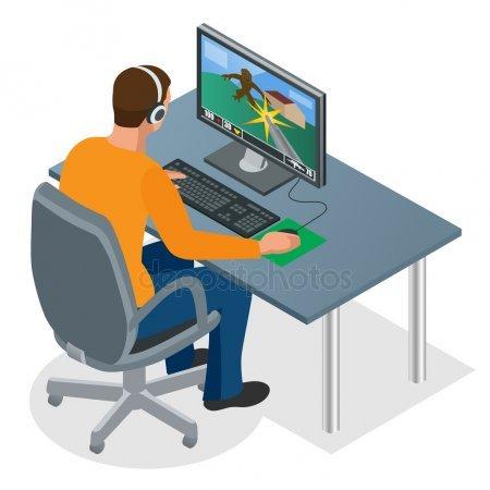 Clipart pc gamer 4 » Clipart Portal.