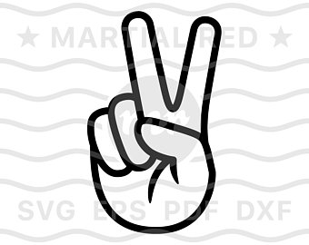 Peace clipart hand, Peace hand Transparent FREE for download.