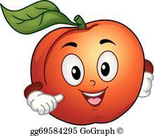 Peach Clip Art.