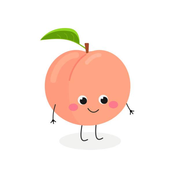 Best Peach Illustrations, Royalty.