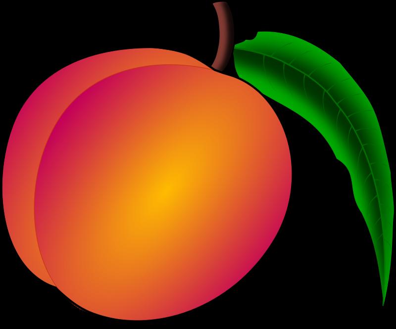 Free Clipart: Peach.