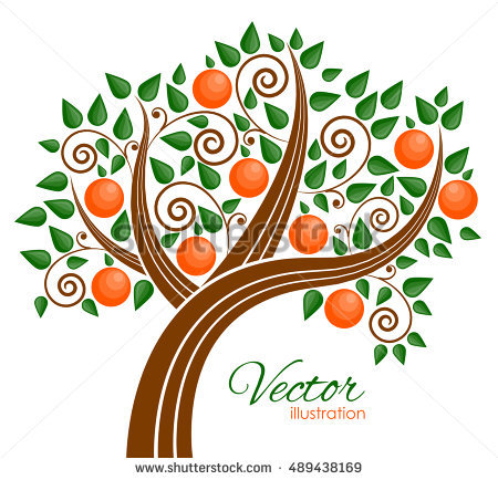 Peaches clipart peach tree.