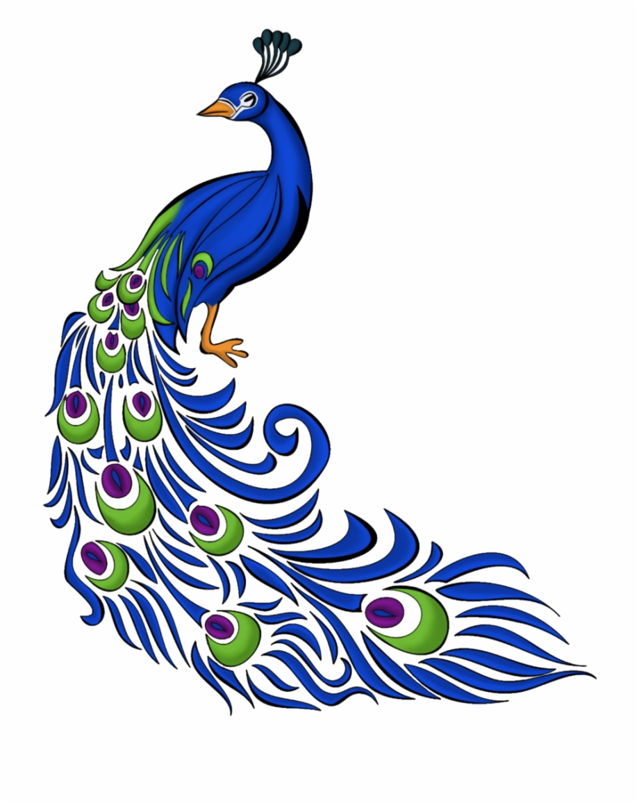 Peacock Clipart Png, Transparent Png Download For Free #488207.