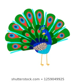 Peacock Clipart Images, Stock Photos & Vectors.