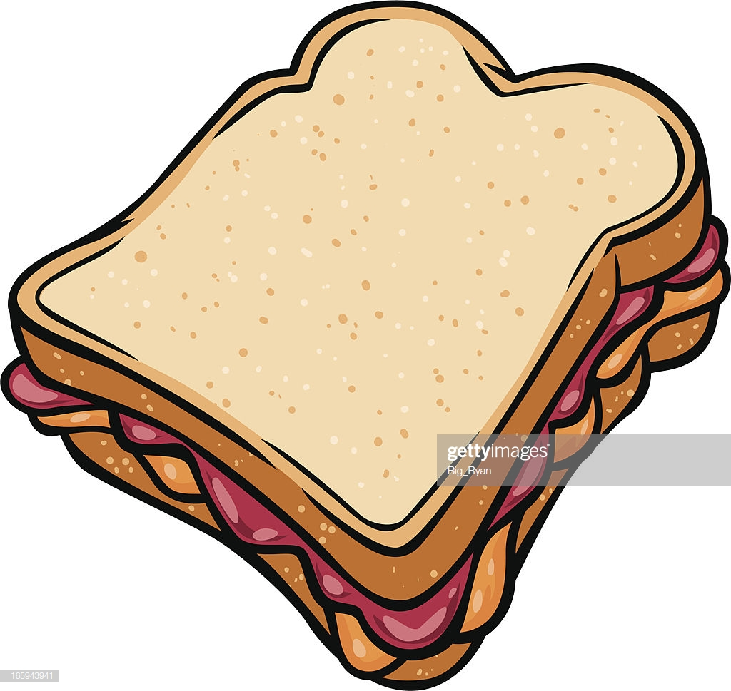 38 Peanut Butter And Jelly Sandwich Stock Illustrations, Clip art.