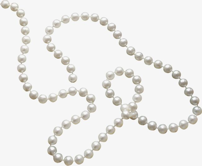 White Pearl Necklace, Pearl, Necklace, Jewelry PNG.