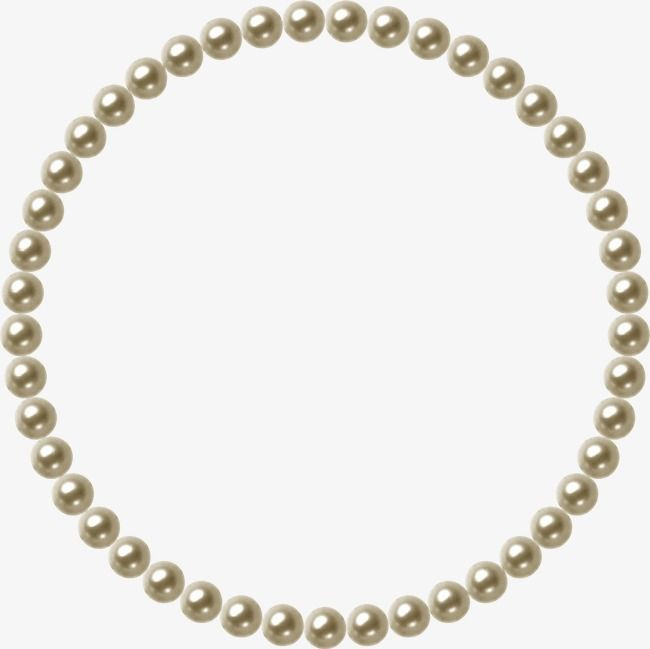 Pearl, Jewelry, Frame PNG Transparent Clipart Image and PSD.