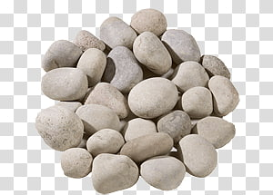 Pile of brown pebbles transparent background PNG clipart.